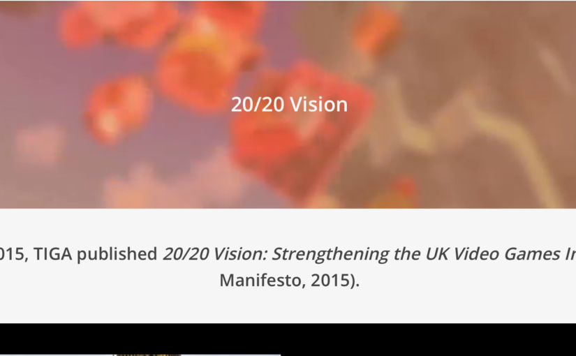 The 20/20 vision strengthening the UK games industry