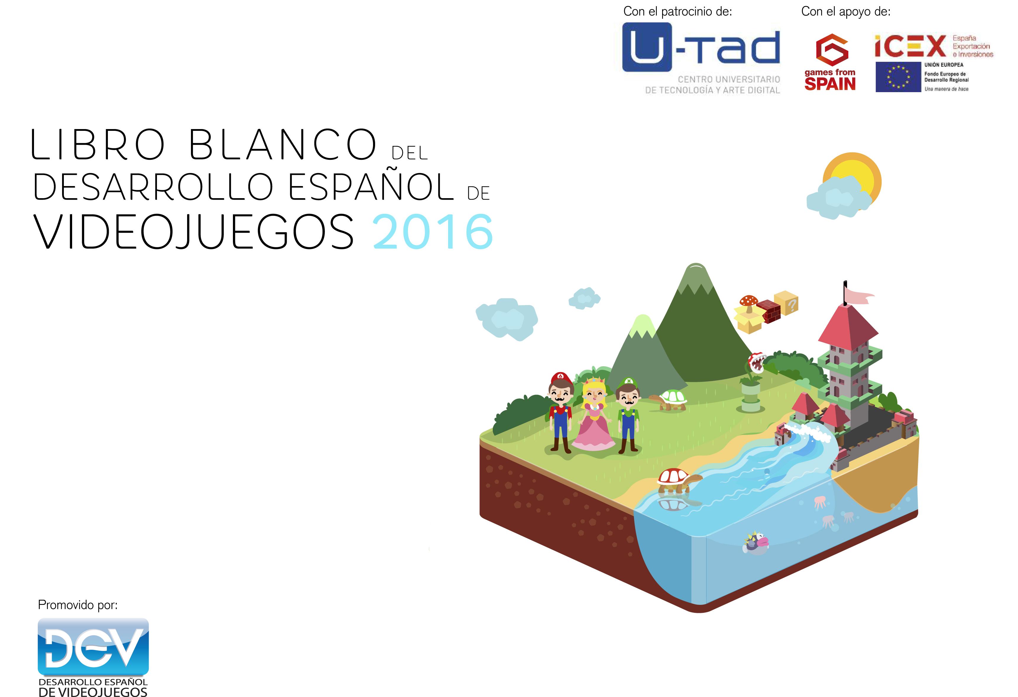 Spain: Libro blanco del Desarrollo Español de Videojuegos 2016