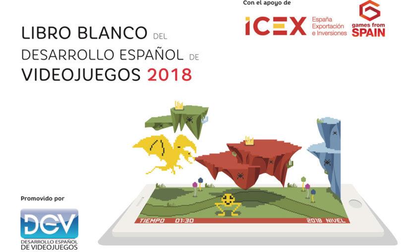 Spain: Libro Blanco del Desarrollo Español de Videojuegos 2018