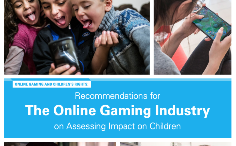 UNICEF recommendations for the Online Gaming Industry