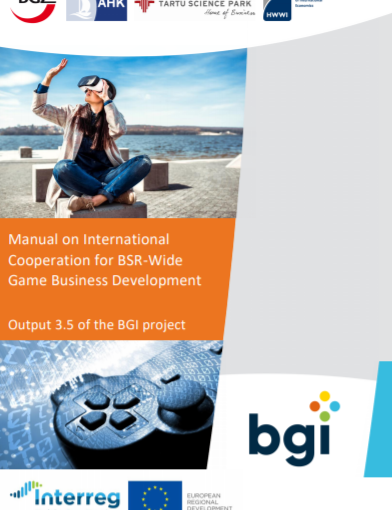 Baltic Game Industry Project: Manual on International Cooperation for BSR-Wide Game Business Development