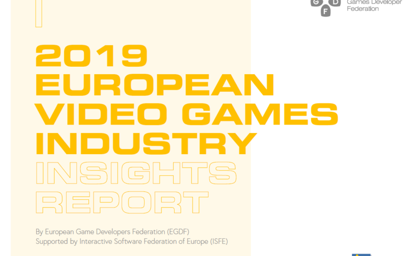 EGDF Report on the European Game Development Industry in 2019