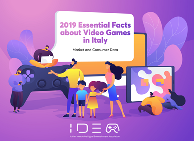 Italy: 2019 report about the video games industry in Italy