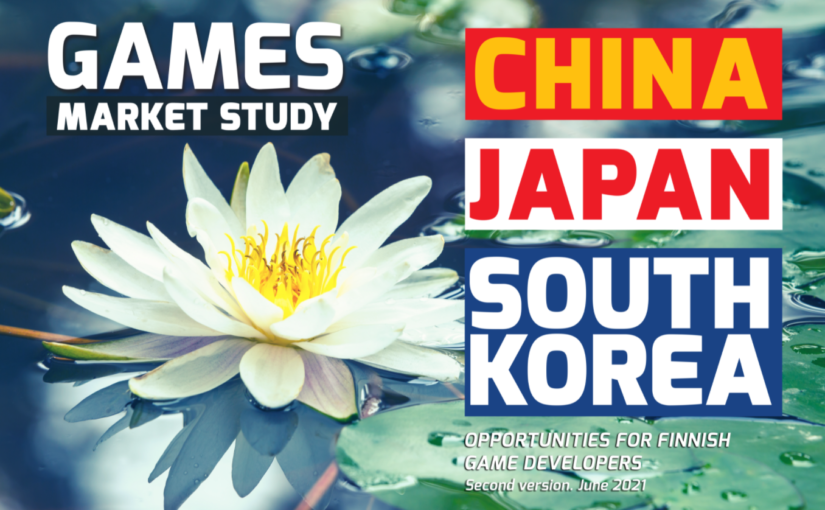 Update to Games Market Study: China, Japan and South Korea