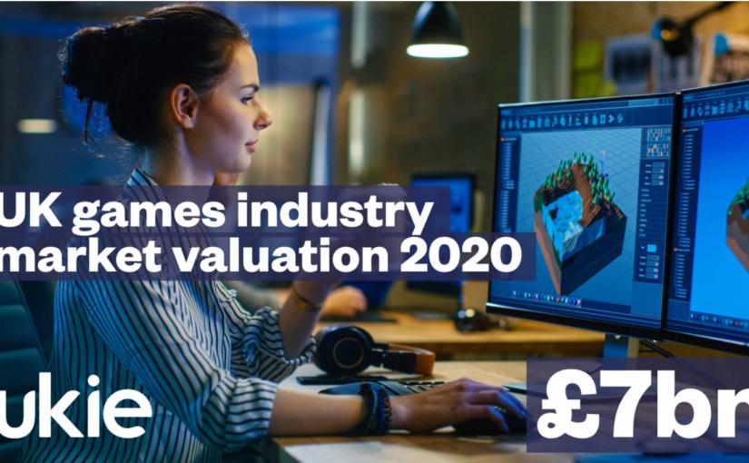 UK games industry market valuation 2020