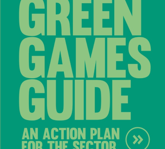 Helping the games business to take action against climate change
